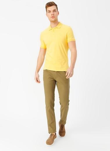 Fabrika Polo Tişört Sarı